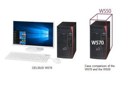 Fujitsu CELSIUS W570 е много повече от компютър