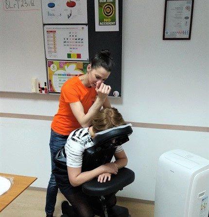 масаж на събития