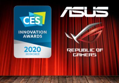 ASUS печели 11 награди за иновации на CES 2020