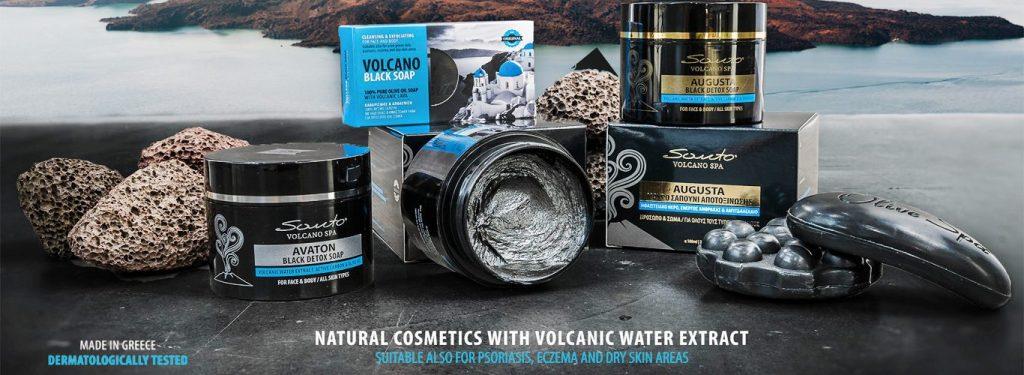 Органичната козметика Santo Volcano SPA